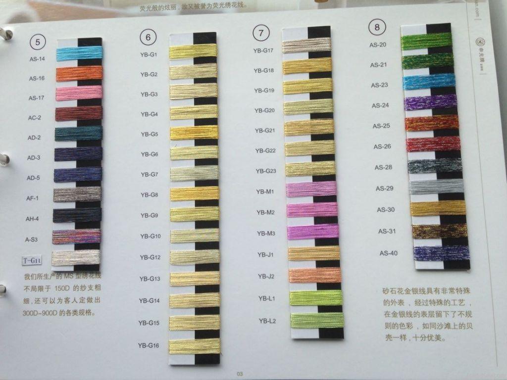 Quality pure gold metallic yarn viscose