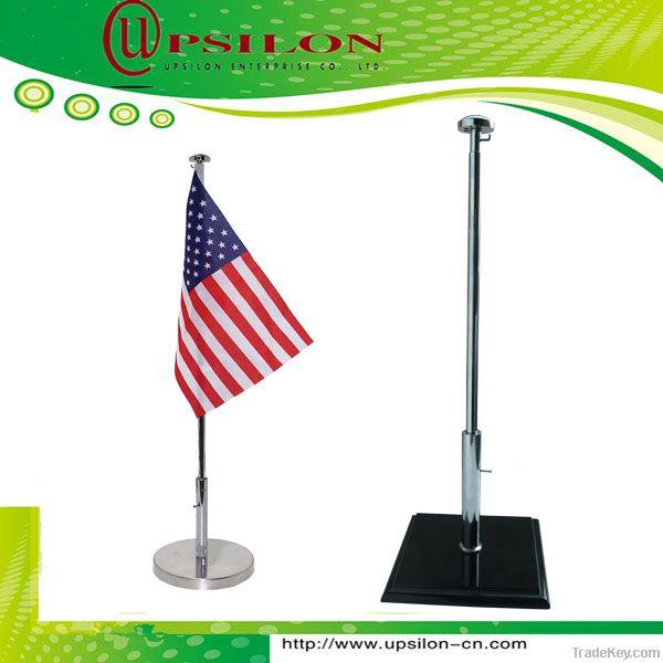 high quality telescopic table flag pole