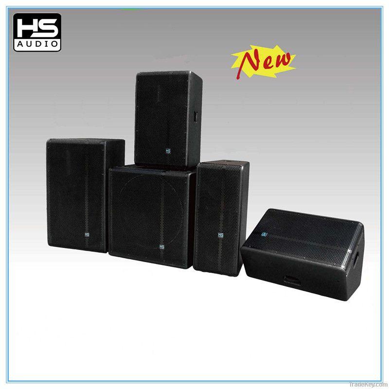 full-range wooden speaker box