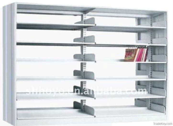 Wooden Double Column Bookshelf