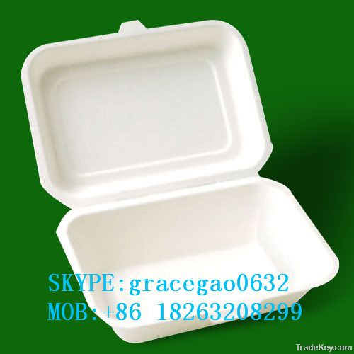 disposable 600ml paper lunch box