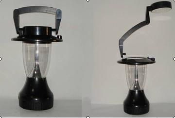 Led plastic solar hanging light