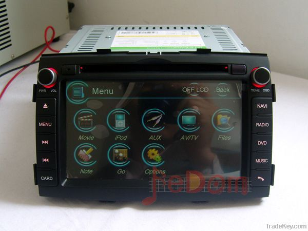 Kia Sorento Radio DVD GPS Navigation with bluetooth Autoradio headunit