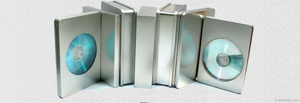 DVD tin with window