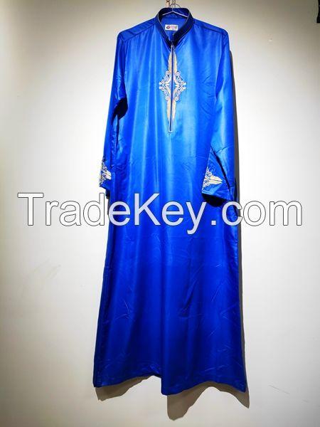 en Muslim Robes Dubai Kaftan Islamic Clothing Arabic Prayer Eid Clothes Indian Middle East Jubba Thobe