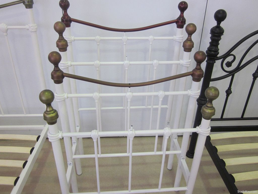 Bedroom furniture metal tubular bedstead ML-088