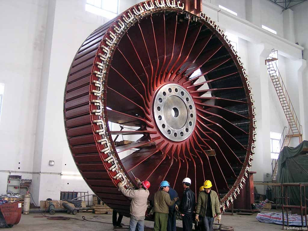 hydraulic turbine generator set