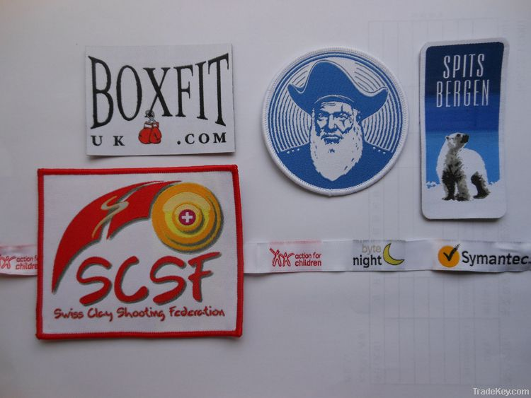 woven labels woven patches woven badges