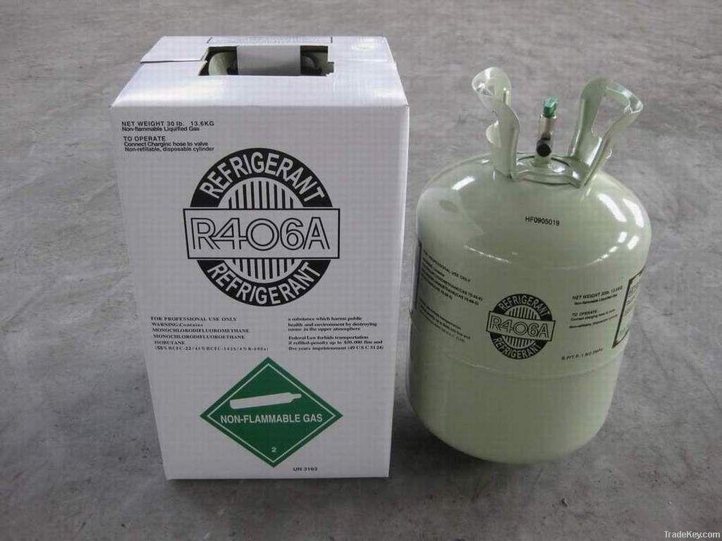 Refirgerant gas R406