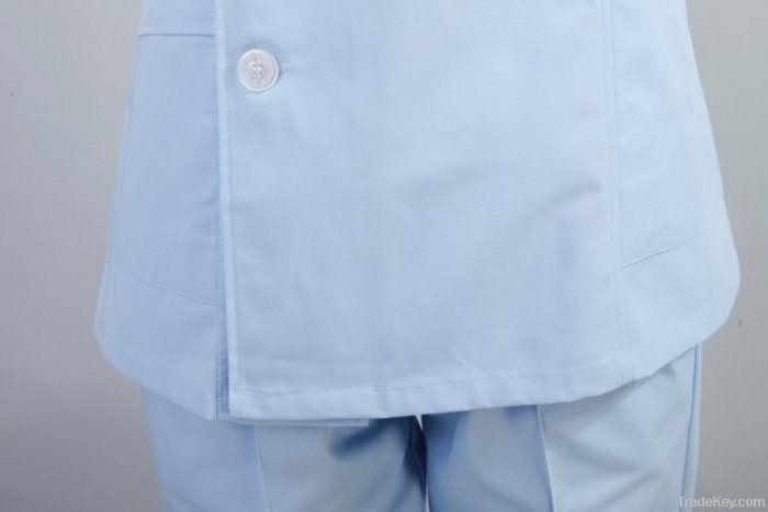 Free Shipping Hospital Nurse Long-Sleeve Nursing Uniform Set
