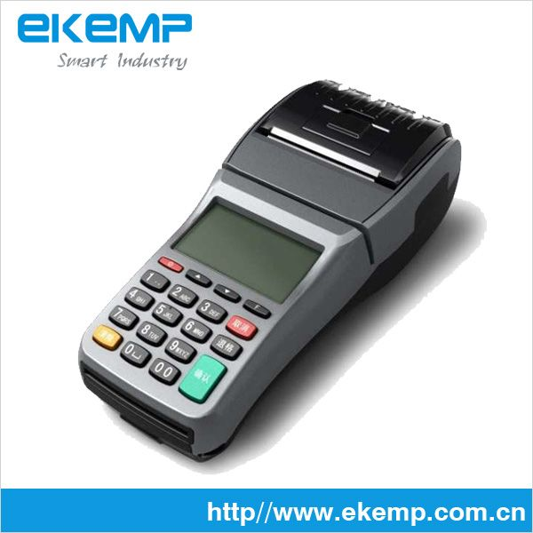 Portable POS Terminal with GPRS, Mifare Card Reader and Thermal Printer (EP370)