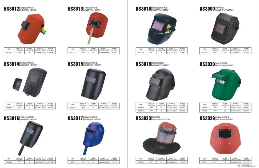 auto darkening welding helmet for head protect