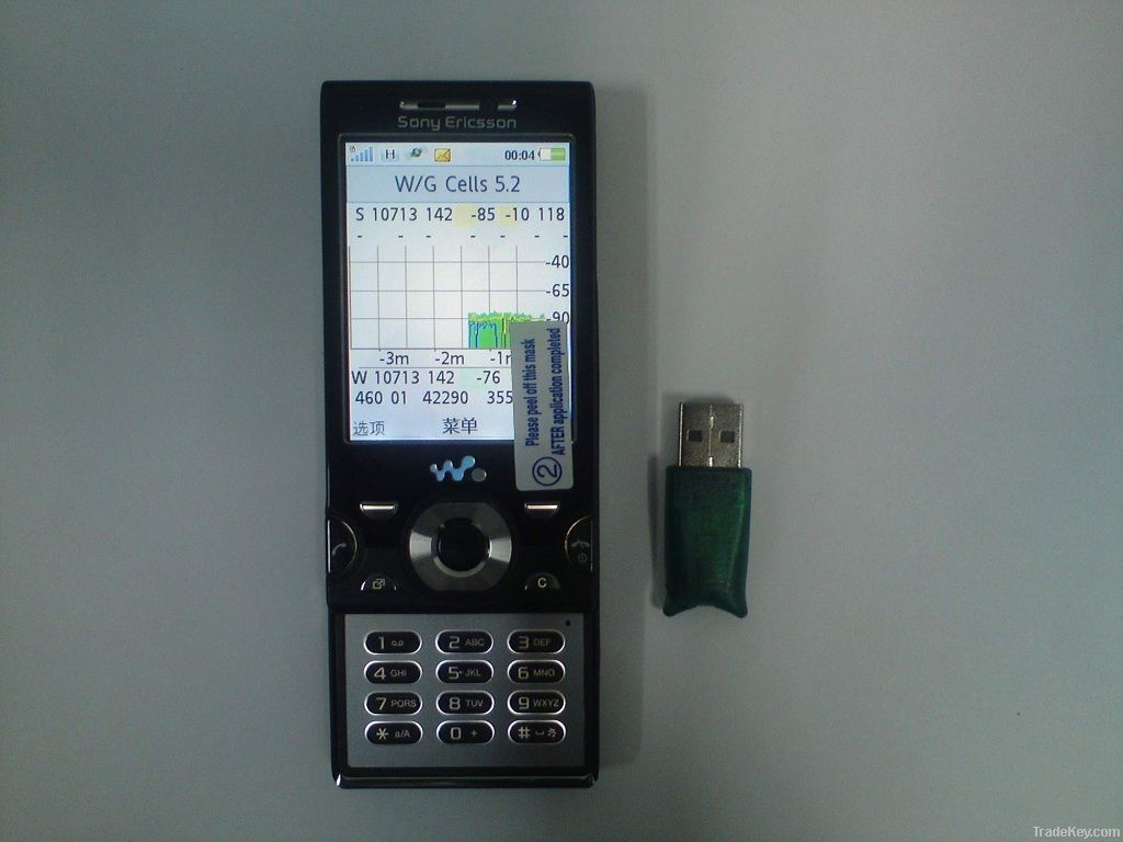 supply w995a tems pocket RF signal testing equipment, with scanner