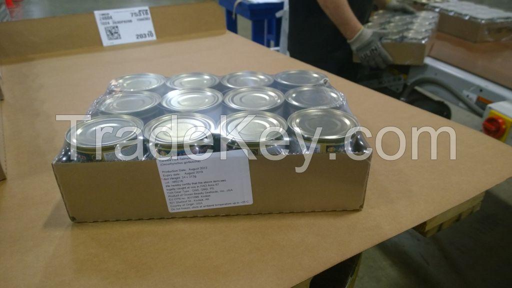 Canned ALASKA WILD SALMON PINK