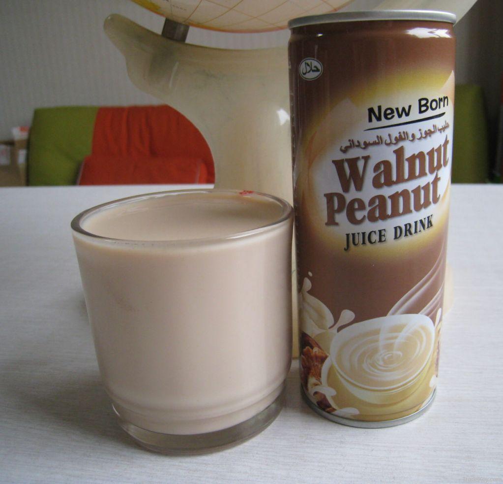walnut peanut  juice drink
