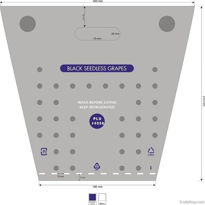 Grape Bag / PVC Bag / Electronics Safety Bag