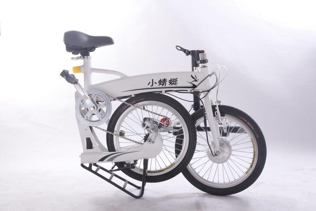 Folding electric bicycle