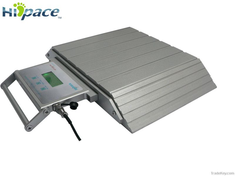 Portable axle scales of measurement