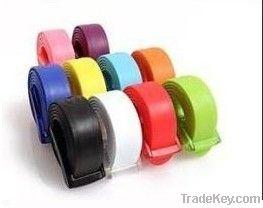fashion silicone belts