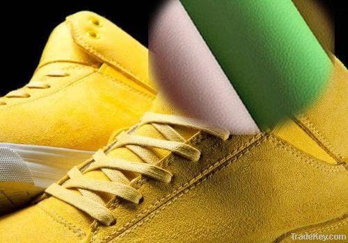 Good Quality Vivid Color Microfiber Shoe Leather Material