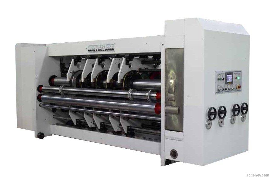 High-speed Flexo Printing Slotting Die-cutting Machine
