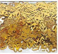 Metallic PVC/PET numerial/ number birthday confetti Multi-color available
