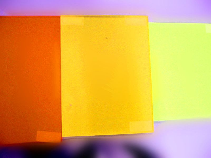 YKL157 frosted acrylic sheet