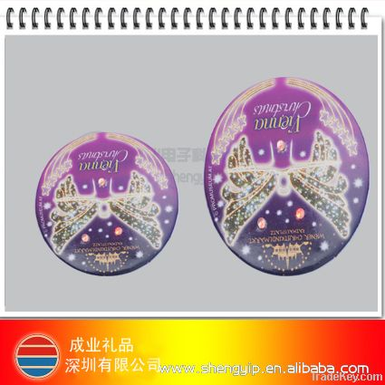 led flashing badge for Christmas