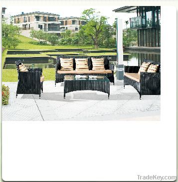 Patio Rattan Sofa Sets