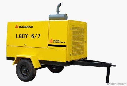 KAISHAN BRAND LGCY-10/10 energy saving Hot sale for tunel Diesel Drive