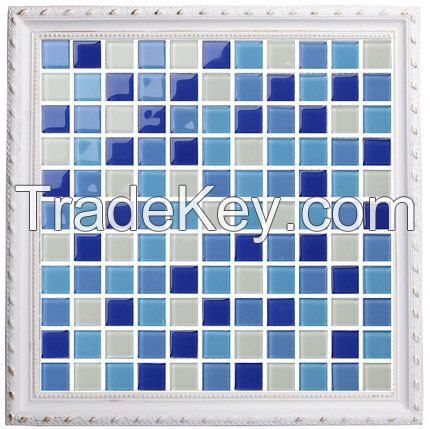 Crystal glass Mosaic tiles subway winning  jigsaw puzzle mosaic Wall tiles wall sticks