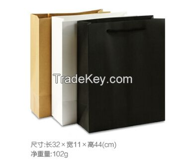 customized logo printing craft paper bags for garments
