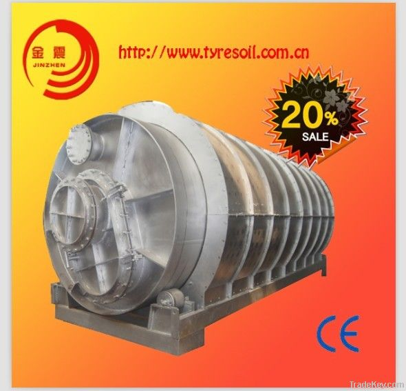JZ Environmental Protective used rubber refining equipment