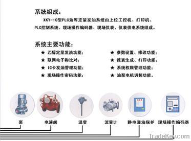 PLC Oil Filling System