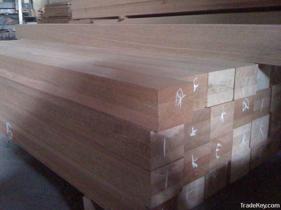 Red Meranti 3 Layer Laminated Scantling