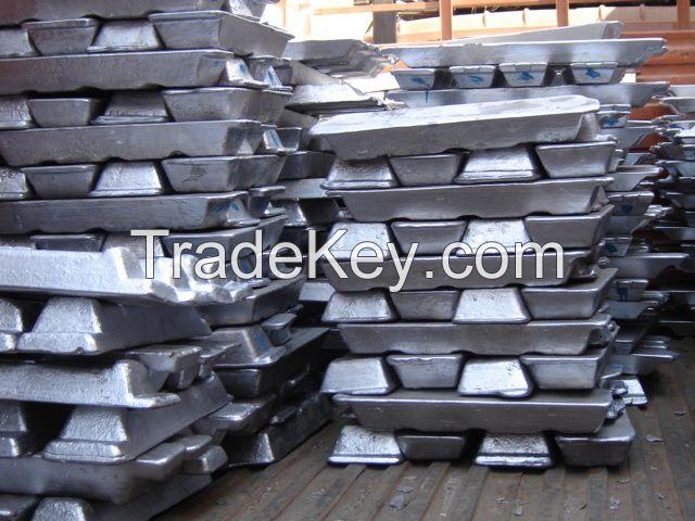 Aluminum Ingot 99.7% Purity