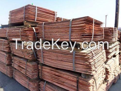 Copper Cathode Best grade AA 99.99%