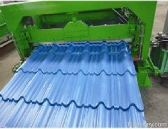 glazed tiles roll forming machine