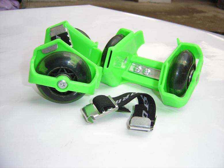 CE flashing rollers,gliders,skate shoes,skate board,
