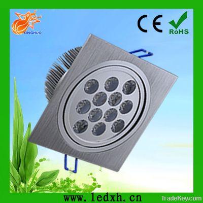 High Power 12*1W led ceiling light square