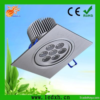 (American chip)7W square commercial led ceiling light for indoors