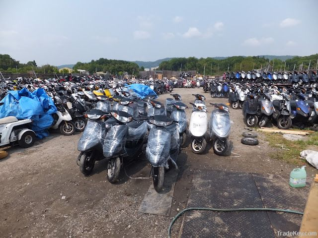 Used motorcycles and scooters