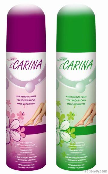L'carina Hair removal foam