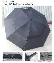 27 Inch double layers golf umbrella