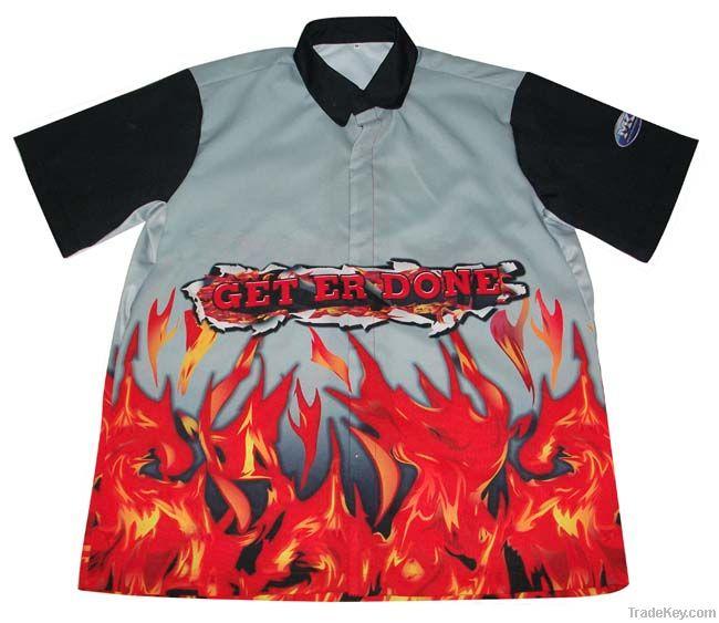 2013 Custom Motocycle racing shirt