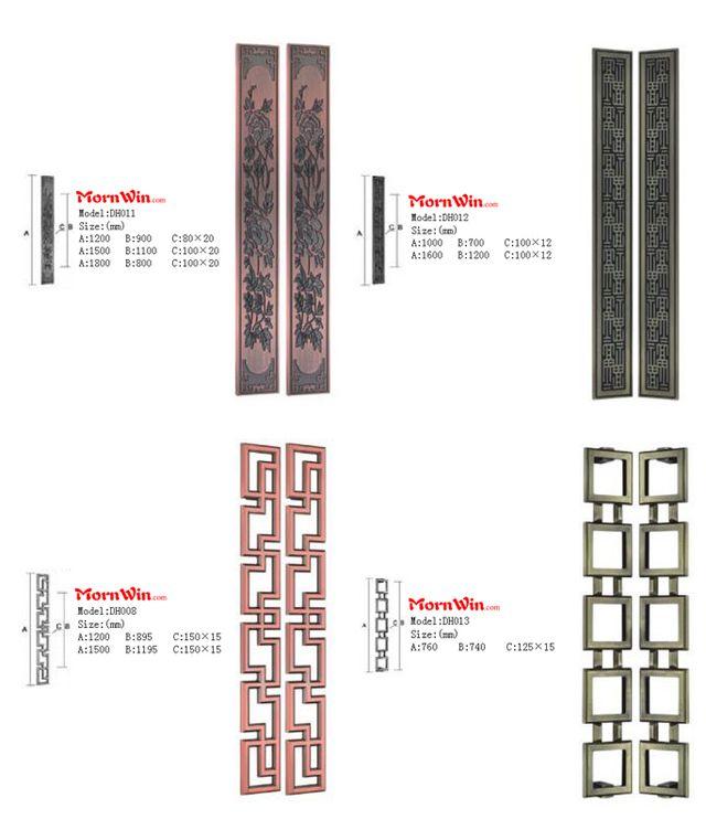 main door stainless steel galss door handle