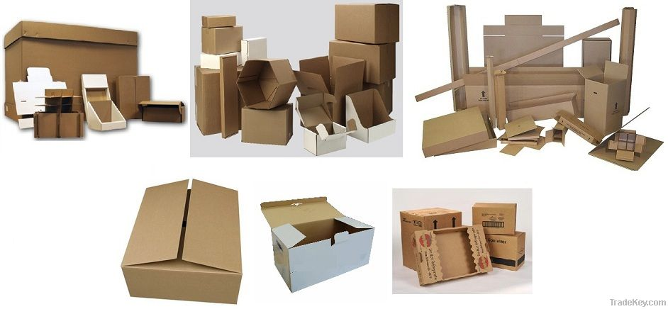 Corrugated Shipping Cartons / Boxes