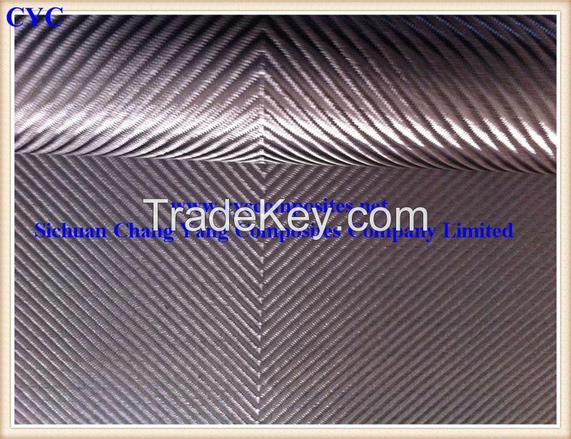 3K Twill Weaving Carbon Fiber Fabric 220gsm
