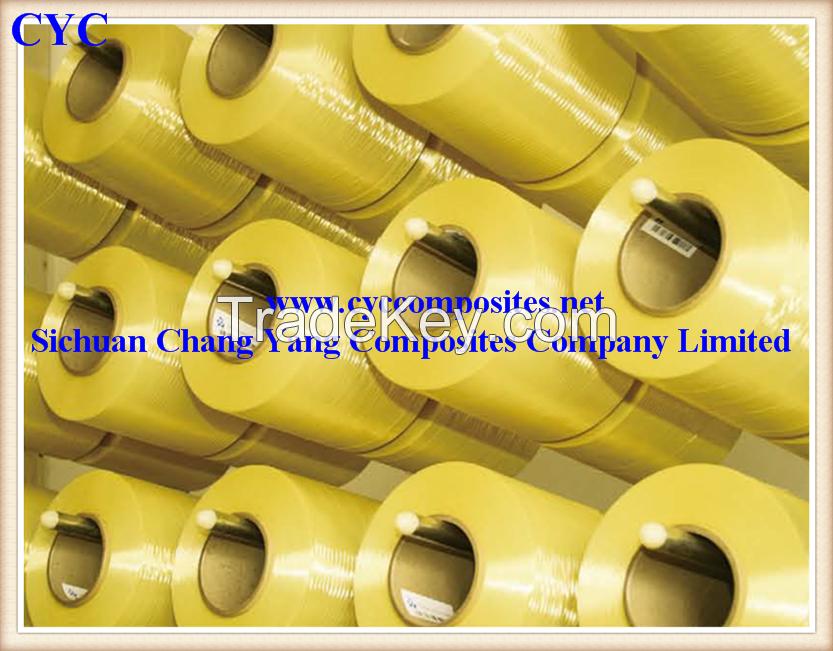 High Strength of Plain Weaving Para-aramid Kevlar Fiber Fabric 1500D 220gsm