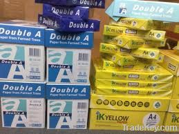 Quality A4 douable copy papers 80gsm, 70 and 75gsm